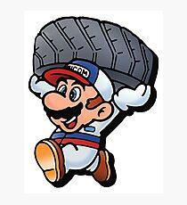 Mario Motors Mario F1 Photographic Print