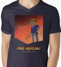 Phil Harding - Time Team Men's V-Neck T-Shirt