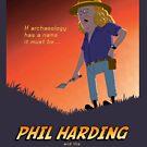 Phil Harding - Time Team by Mark Barnes