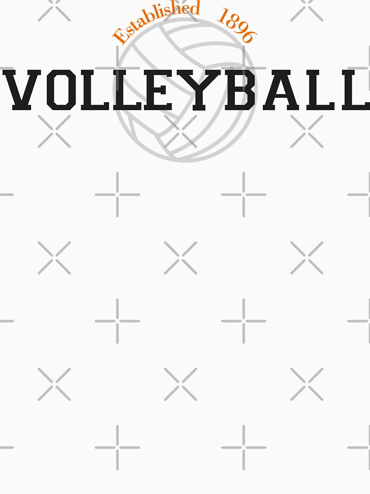 Volleyball Established 1896 by SportsT-Shirts