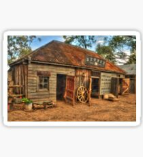 Livery  .. Wilberforce Pioneer Village .. in HDR Sticker