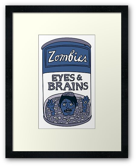 Zombies - Brains & Eyes Soup by fsmooth