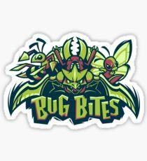 Team Bug Types - Bug Bites Sticker