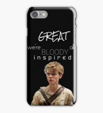 great we're all bloody inspired  iPhone Case/Skin