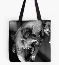 Sabre-toothed Cat Skull Tote Bag