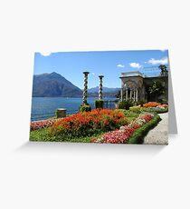 Villa Monastero, Varenna, Lake Como Greeting Card