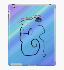 String Theory Cat 2 iPad Case/Skin
