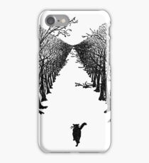 The Cat Who Walks By Himself iPhone Case/Skin