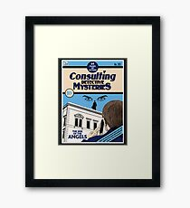 Consulting Detective Mysteries Framed Print