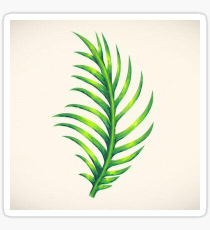 Tropical Leaf III Sticker