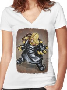 Nemesis: Resident Evil Women's Fitted V-Neck T-Shirt