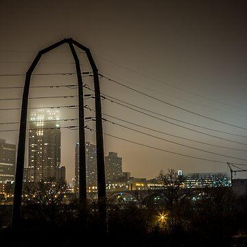 Power Foggy City by DJBellis