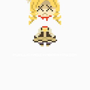 Headless Mami Pixels Tee by Astrotoast