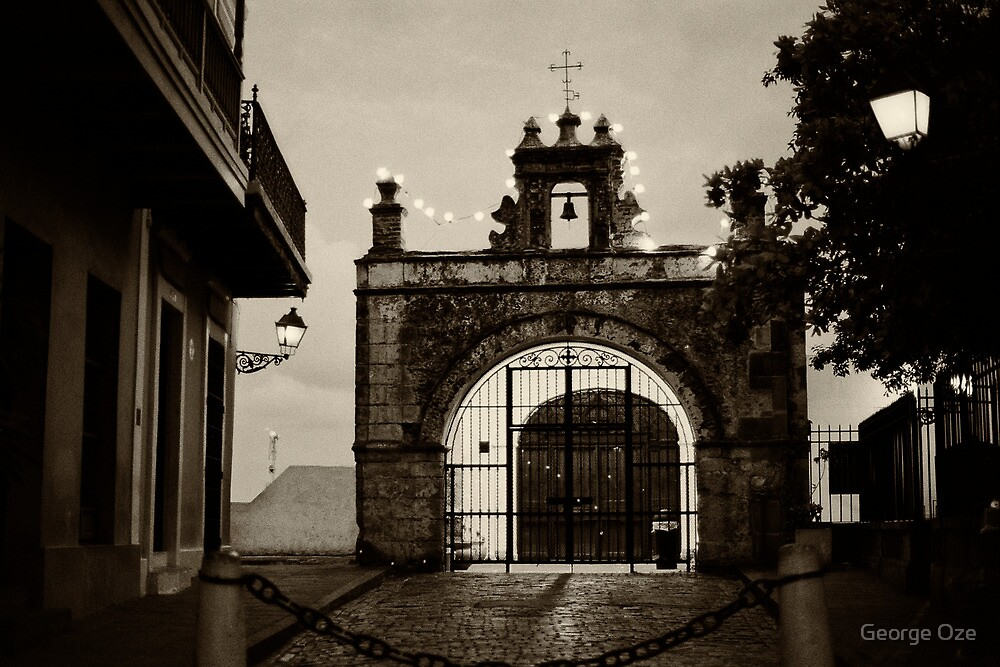 Small Chapel of San Juan by George Oze
