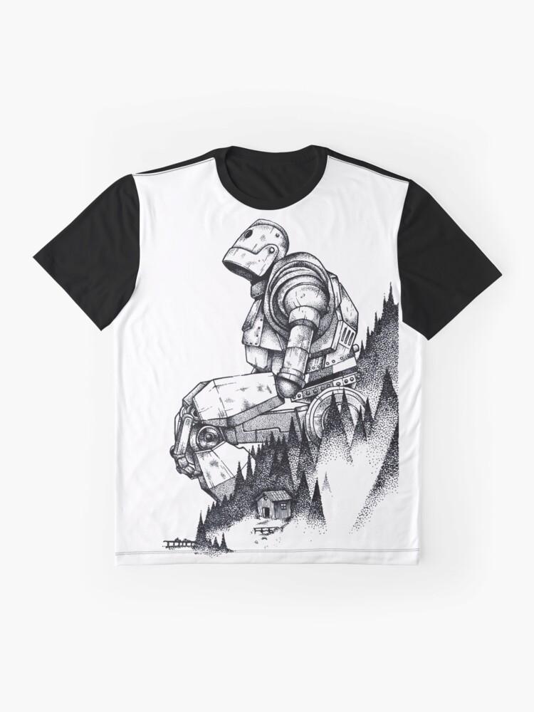 Alternative Ansicht von Eisenriese Grafik T-Shirt