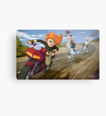 Kim Possible: Reluctant Valentine Metal Print