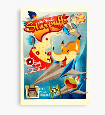 Starpuffs Canvas Print