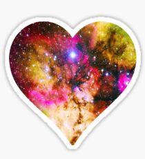Galaxy Heart Tee One Sticker