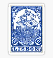Azulejo Lisbon Azulejos Lisboa Sticker