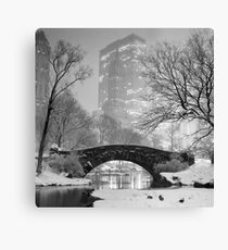 Gapstow Bridge, Study 2 Canvas Print