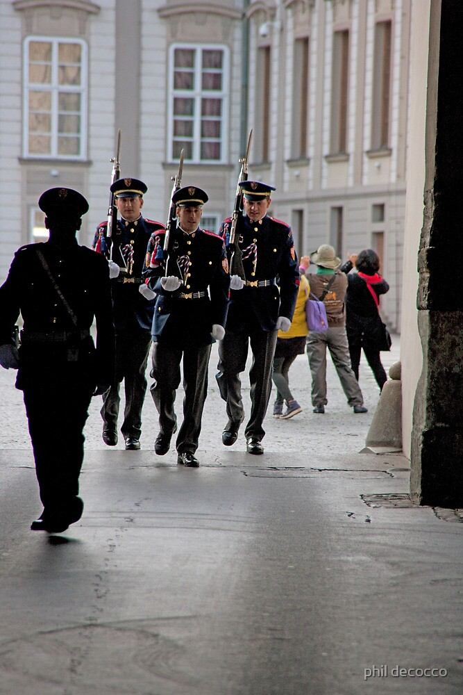 Guards And Photographers by phil decocco