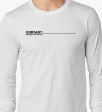 Corvadt Biological Sciences - Utopia (black) T-Shirt