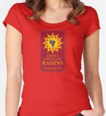 Reddy's Chocolate Raisins - Utopia Women's Fitted Scoop T-Shirt