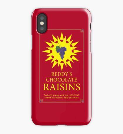 Reddy's Chocolate Raisins - Utopia iPhone Case/Skin