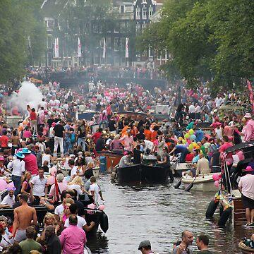 Amsterdam Gay Pride by esmerose