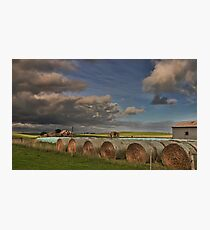 Rural Farm Photographic Print