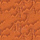 Orange Snake Skin by pjwuebker