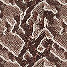 Dark Brown Snake Skin by pjwuebker