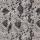 Black and Gray Snake Skin by pjwuebker