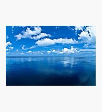 Over a Blue Horizon Photographic Print