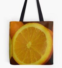 Open Orange Panel #2 of 3 (Please read description) Tote Bag