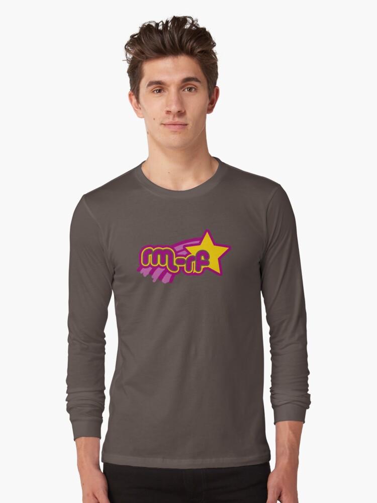 rm -rf * Long Sleeve T-Shirt Front