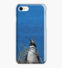 Penguin calling iPhone Case/Skin