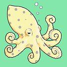 Little Yellow Octopus by JLAnichowski
