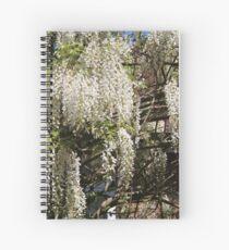 Nanny's Wisteria Spiral Notebook
