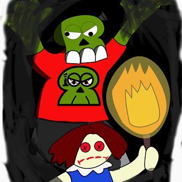 Zombie 006: Stumby the Screwball by ByronDZero