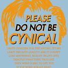 Please Do Not Be Cynical by Oskar Dahlbom