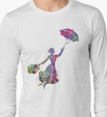 Mary Poppins Long Sleeve T-Shirt