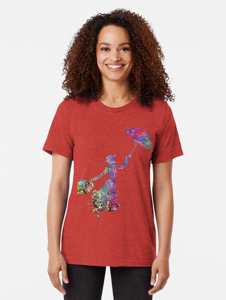 Alternative Ansicht von Mary Poppins Vintage T-Shirt