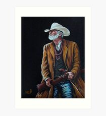 Big Swede~ The Gunslinger Art Print