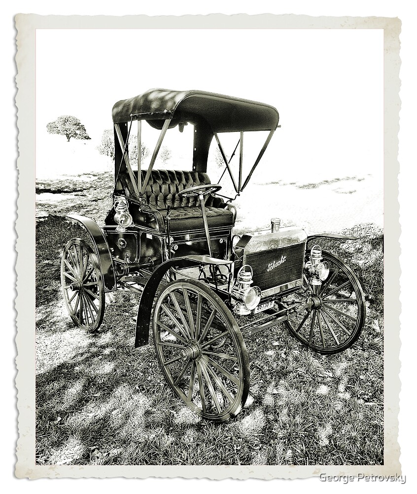 Horseless Carriage : circa 1909 by George Petrovsky