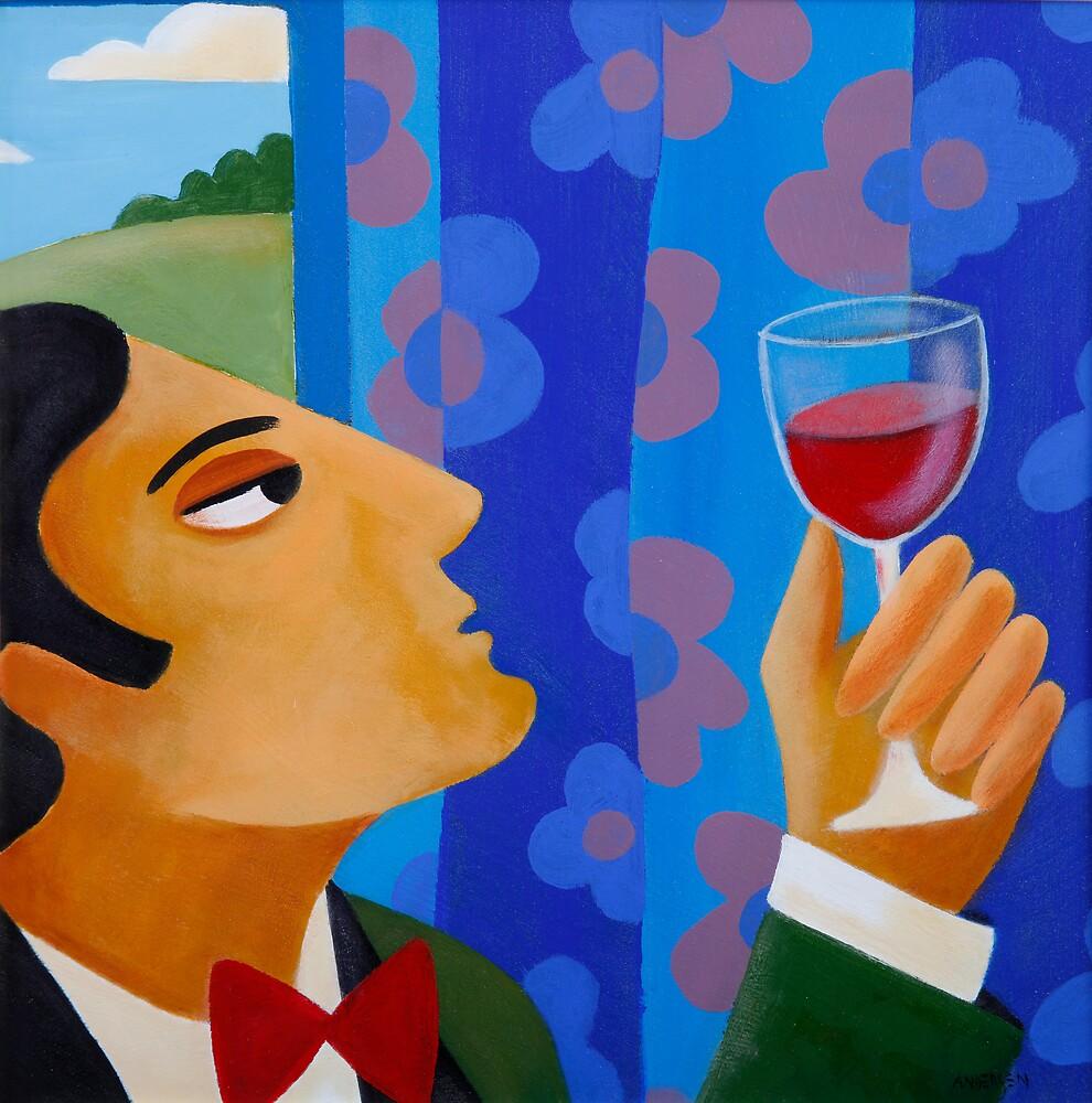WINE TASTING by Thomas Andersen