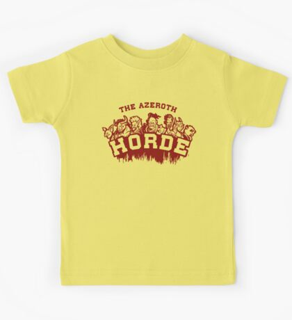 Team Horde  Kids Clothes