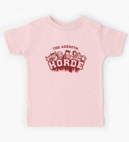 Team Horde  Kids Clothes
