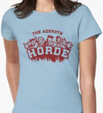 Team Horde  Womens Fitted T-Shirt