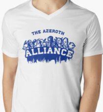 Team Alliance Men's V-Neck T-Shirt